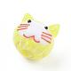 Handmade Lampwork Kitten BeadsLAMP-I020-04-4