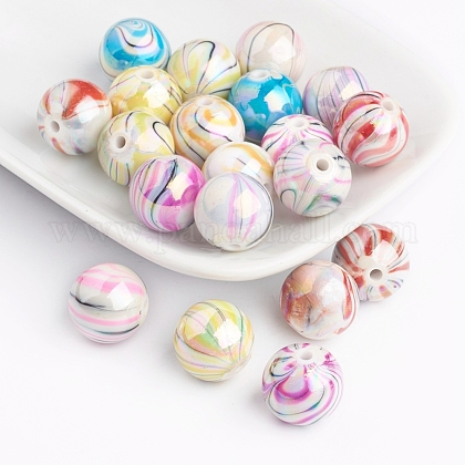 Perles acryliques d'effilageDACR-0163-M-1