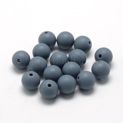 Abalorios de silicona ambiental de grado alimenticioSIL-R008D-15-1