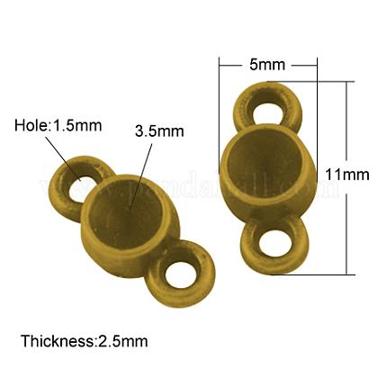 Сплавочные коннекторы для размещения стразовX-PALLOY-A20074-AG-LF-1