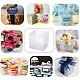 Transparent Plastic PVC Box Gift PackagingCON-WH0052-6x6cm-7