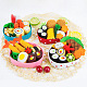 Handmade Non Woven Fabric Sushi Lunch Set DIY-L008-01-3