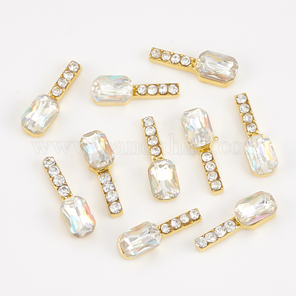 Cabochons Diamante de imitación de la aleaciónMRMJ-T015-20B-1