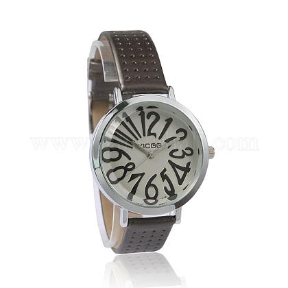 High Quality Imitation Leather Wristwatch Quartz WatchesX-WACH-I014-F01-1