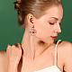 Alloy Ear StudsEJEW-Q699-36AS-NR-6