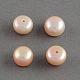 Perlas de agua dulce cultivadas naturales de grado aaaPEAR-R008-7~7.5mm-03-1