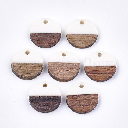 Colgantes de resina y madera de nogalRESI-S358-02E-01-1