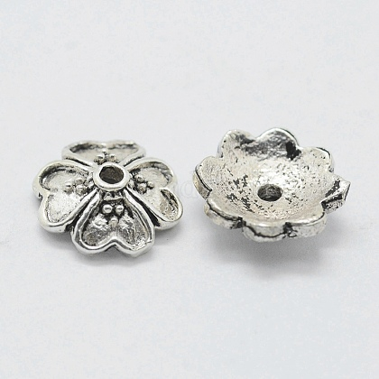 Thai Sterling Silver Bead Caps STER-K171-29AS-1