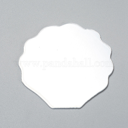 Shell Shape MirrorDIY-WH0170-50-1