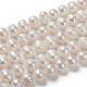 Hebras de perlas de agua dulce cultivadas naturalesPEAR-S012-53-4