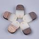 Colgantes de resina y madera de nogalRESI-S358-41A-1