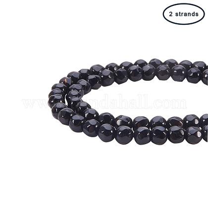 Natural Agate Beads StrandsG-PH0034-16-1