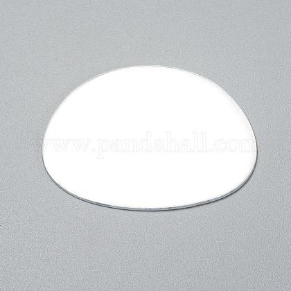 Oval Shape MirrorX-DIY-WH0170-52-1