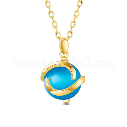 SHEGRACE® collar de plata de ley 925 colganteJN727B-1