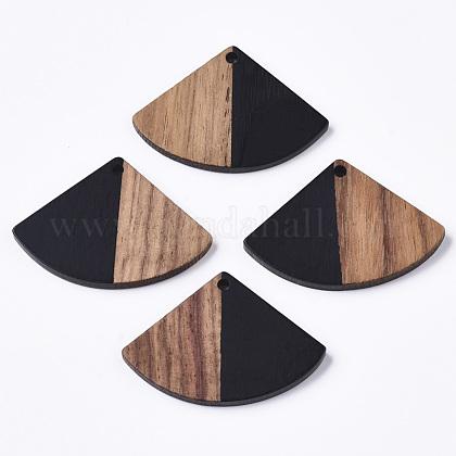 Colgantes de resina & maderaRESI-S358-86B-02-1