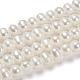 Grado de perlas de agua dulce cultivadas naturalesPEAR-D039-1-5