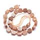 Natural Sunstone Beads StrandsG-K223-58A-2