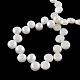 Hebras de perlas de agua dulce cultivadas naturalesPEAR-R013-01-2