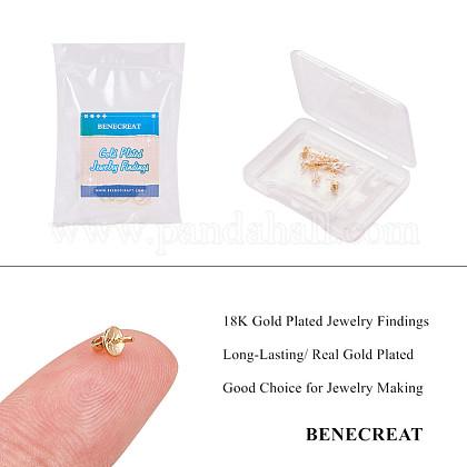 真鍮ペグベイルペンダントKK-BC0003-84G-1