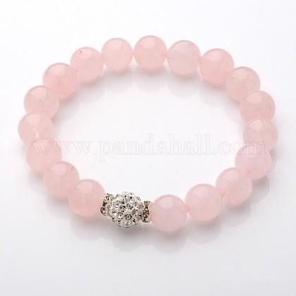 Exquisite Design Natural Gemstone Beaded Stretch BraceletsBJEW-JB01855-02-1
