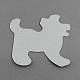 Собака поделки hama бисер бусины картонные шаблоныX-DIY-S002-07A-2