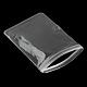 Sacs rectangulaires en PVC à fermeture à glissièreOPP-R005-9x13-2