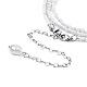Glass Seed Beads Chain BeltsNJEW-C00013-5