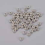 Tibetan Silver Antique Silver Bicone Spacer Beads, Metal Findings Accessories for DIY Crafting, Metal Findings for Jewelry Making Supplies, Lead Free and Cadmium Free & Nickel Free, 5x3mm, Hole: 1mm
