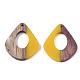 Colgantes de resina y madera de nogalRESI-S358-06H-2