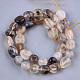 Natural Marine Chalcedony Beads StrandsX-G-T105-34-2