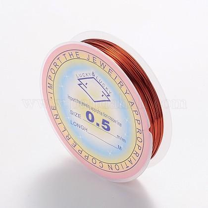 Copper Jewelry WireCWIR-CW0.5mm-10-1