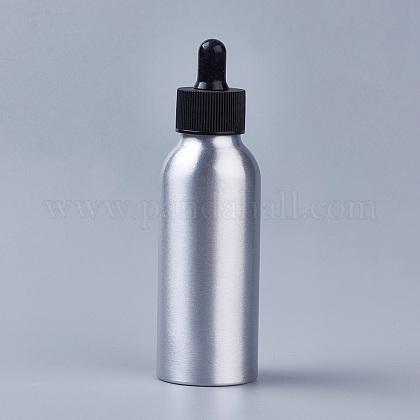 100mlアルミ空スポイトボトルMRMJ-WH0033-01C-1