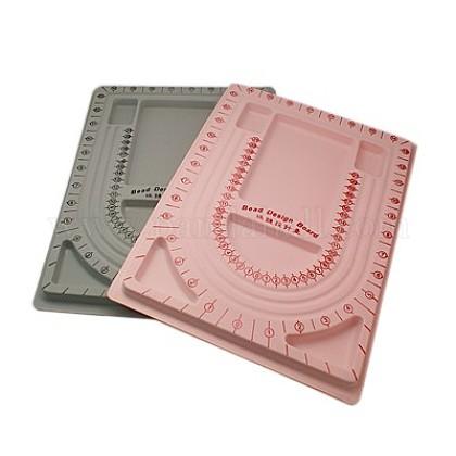 Пластиковые бисера доски дизайнаODIS-G003-M-1