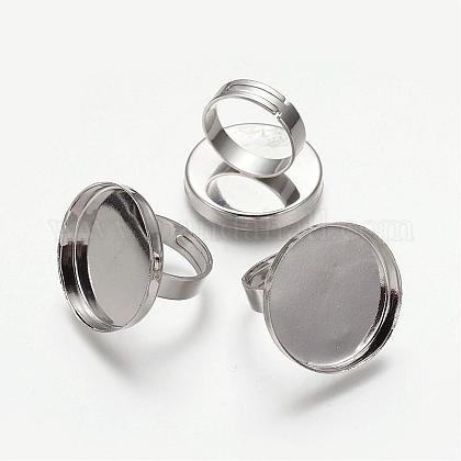 Tiges à anneau en laiton KK-J057-P-1