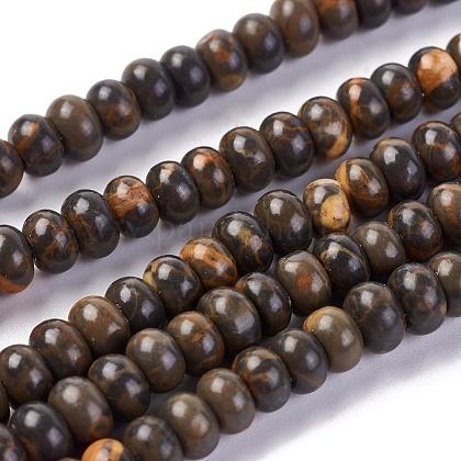 Natural Picture Jasper Beads StrandsG-L501-04-1