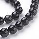 Natural Obsidian Beads StrandsG-G099-8mm-24-3